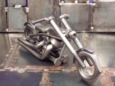 Recycled motorbikes get down to nuts and bolts | Designbuzz : Design ideas and concepts