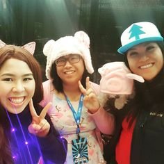 We're at air capital comiccon!! Come and visit our booth!! :D . . . .#love #instagood #smile #follow #cute #gravityfalls #dipper #mabel #waddles #photooftheday #followme #style #beautiful #happy #picoftheday #amazing #fashion #igers #fun #disney #friends #instamood #paperxcute #paperxcutedolls #kawaii #asian #bearears #catears #headband #cosplay