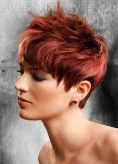 Diese 10 trendigen Kurzhaarfrisuren in Kupferfarben darfst Du nicht verpassen! - Seite 2 von 10 - Neue Frisur