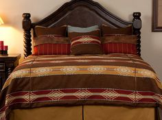 New Native Red Tail Bedding Collection | Mountain Comfort Furnishings & Design