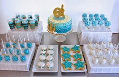 Half Baked Co.: Mermaid Dessert Table