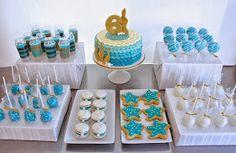 Half Baked Co.: Mermaid Dessert Table