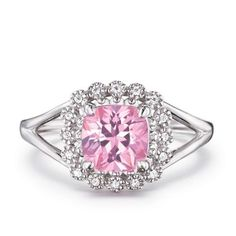beautiful sterling silver fancy pink CZ Ring special price $29.99 will be $59.99 shop online at http://kimberlystone.avonrepresentative.com
