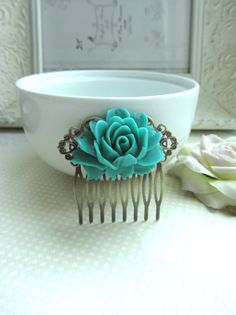 Hey, I found this really awesome Etsy listing at https://www.etsy.com/listing/120042597/a-large-turquoise-blue-rose-flower-art