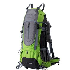 71e3f60a61 Amazon.com   65L Internal Frame Backpacks by DEVAISE Backpacking Packs with  Rain Cover for Outdoor Climbing