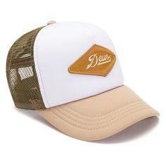 dd330874 Deus Ex Machina Diamond Trucker Hat - Tan O/S Deus Clothing, Deus Ex