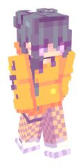 Check out our list of the best Purple Hair Minecraft skins. Minecraft Skins Female, Minecraft Skins Cute, Minecraft Skins Aesthetic, Cool Minecraft Houses, Lego Minecraft, Minecraft Designs, Minecraft Stuff, Minecraft Outfits, Minecraft Buildings