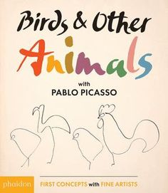 (Phaidon) A groundbreaking study of animals as captured in rarely seen sketches by legendary artist Pablo Picasso The masterful drawings of Pablo Picasso are used to teach animal recognition in this artful, read-aloud board book. Birds & Other Animals takes children through Picasso's series of single-line animal drawings, beginning and ending with various kinds of birds. The cleverly whimsical charm of Picasso's sketches keeps readers engaged, while the accompanying text enriches the…