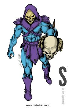 S is for Skeletor