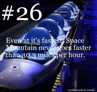 That's 5 mph slower than Thunder Mountain!!!