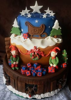 Whether you bake it yourself or order it, you should certainly have your Christmas cake. Beside the cake you can have Christmas cupcakes an...