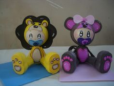 Baby Shower 3d Fofuchas+bebes