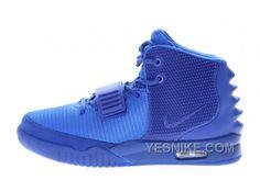 low priced af0b6 3d737 Mens Nike Air Yeezy 2 Gamma Blue Glow in the Dark Cheap Sneakers, Discount  Sneakers