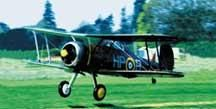 Aerographics Gloster Gladiator G339 Balsa Aircraft Kit | Hobbies