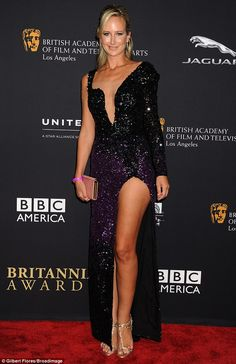 Lady Victoria Hervey injects a touch of sass to BAFTA Britannia bash #dailymail