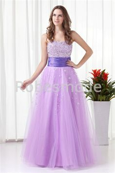 A-line Strapless Floor Length Empire Tulle Purple Prom Dress Formal Dresses Online, Affordable Prom Dresses, Best Prom Dresses, Evening Dresses Plus Size, Formal Evening Dresses, Pageant Dresses, Bridesmaid Dresses, Prom Dress 2014, Prom Dress Shopping