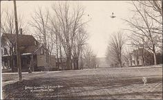 RP: Street Leading to Spelsey Hill , MINERAL POINT , Wisconsin , PU-1912