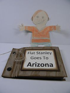 Kards by Kadie: Flat Stanley in Arizona Learning Through Play, Fun Learning, School Projects, Projects For Kids, Stanley Adventure, State Crafts, Flat Stanley, Best Flats, First Grade Teachers