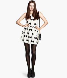 H&M Bow dress, XS, $29.95