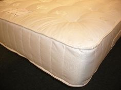 6ft Symphony Zoned Pocket Sprung Mattress - £494.95 - Outstanding value and hugely popular. If you like a medium feel with a touch of luxury and all the benefits of pocket springs, the moment you lie on this mattress you'll know you made the right choice! Soft and deep upholstery layers on both sides combined with a soft high quality damask fabric with a very supportive spring system.