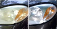 Foggy, faded, or dingy headlights? Return your car headlights to their former glory with this simple household item. You won't believe how easy it is!