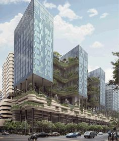 A great combination of architecture and nature. Find green offices to rent at http://www.bueroinfo.at/