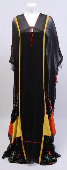 Thea Porter Couture Asian Caftan