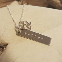 'Button' 22 Sterling Silver Necklace