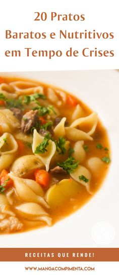 Soup Recipes, Cooking Recipes, Healthy Recipes, Cooking Time, Carne, Good Food, Food And Drink, Health Fitness, Pizza