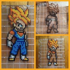 Vegito - Dragon Ball perler beads by mastablasta3