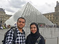 A vacation photo from Faisal and Nazia Ali. Nazia and Faisal Ali, were kicked off a Delta Airlines flight from Paris to Cincinnati on July 26. They were returning from a week-long trip celebrating their 10th anniversary.