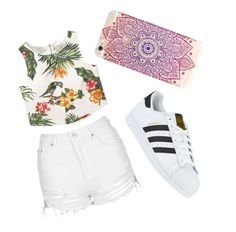 """💀💀🖕💀💀🖕🖕🖕🖕💀💀💀💀💀💀"" by heyitzshayy on Polyvore featuring MANGO, Topshop and adidas"