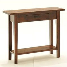 2, side by side = console table