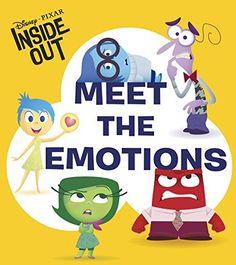 Disney | Pixar INSIDE OUT - Meet the Emotions (Glitter Board Book)