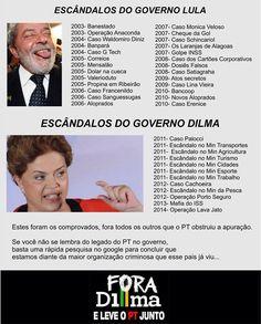BOMBA! Revista VEJA revella que #Dilma e #Lula sabiam do roubo a Petrobrás.