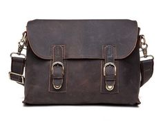 Kattee Vintage Crazy-horse Cow Leather B...
