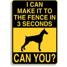 Choose from 130 dog breeds. Weatherproof aluminum signs in your choice of color and size. Starting at $18.00