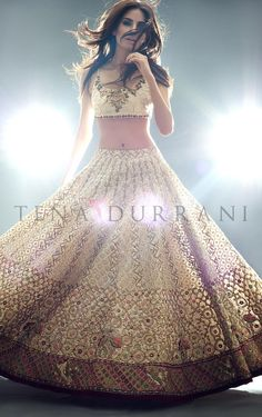 Tena Durrani Beautiful Bridal Dresses 2016 For Women - Fashion Hacks Pakistani Dresses, Indian Dresses, Indian Outfits, Indian Clothes, Indian Attire, Indian Ethnic Wear, Lehenga Choli, Anarkali, Gold Lehenga