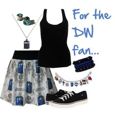 Doctor Who Fan Outfit... I HAVE TO HAVE THIS OUTFIT!!!!!