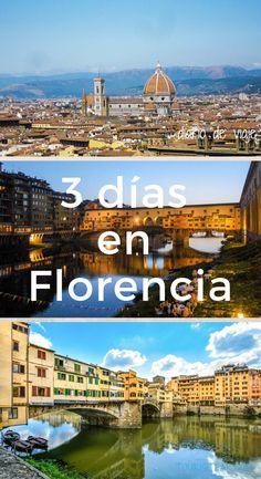 Viajas a Florencia. Aquí tienes un itinerario de 3 días para recorrer la ciudad. Vas a estar más días, haz clic y busca el post con 75 ideas para ver y hacer en Florencia. Eurotrip, Cinque Terre, World Traveler, Italy Travel, Where To Go, Travel Tips, Places To Visit, Journey, Europe