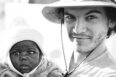 Emile Hirsch: Actor and Oxfam ambassador. Another reason that I love him beyond words. He is a truly beautiful creature, inside and out.