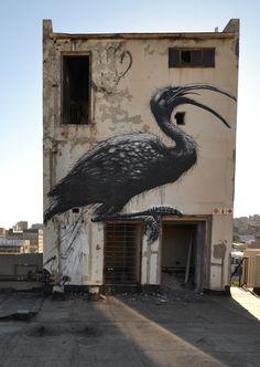 #ROA in the UK, USA, Norway, Puerto Rico, South Africa - unurth   street art
