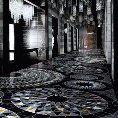Mosaico in marmo COSMATI by Sicis #napoli #madeinitaly #caiazzocentroceramiche #prezzofelice #ceramicsofItaly