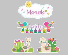 Bolo Hello Kitty, Scrap, Cactus, Monitor, Gardens, Llamas, Stickers, Colors, Party