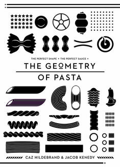 Pasta is a simple thing but getting it absolutely right depends as much on choosing the best pasta shape for the sauce as on cooking it properly (The Geometry of Pasta)