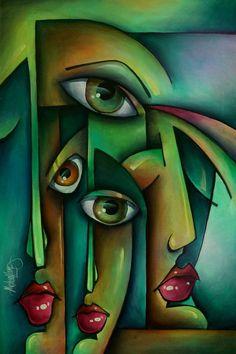 Afbeeldingsresultaat voor abstracte kunst m. lang