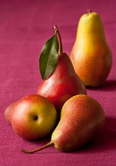 December Healthy Food: Pears