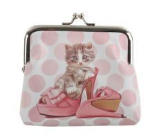 Portofel Pink Cat