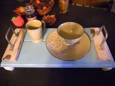 Serving Tray by TheRusticBumblebee on Etsy