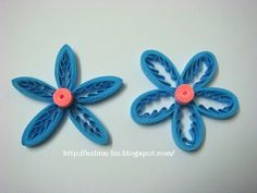 AZLINA ABDUL: Tiny loops flower - Part 2